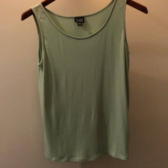 37e199acb0572 Eileen Fisher size S 100% silk tank top camisole